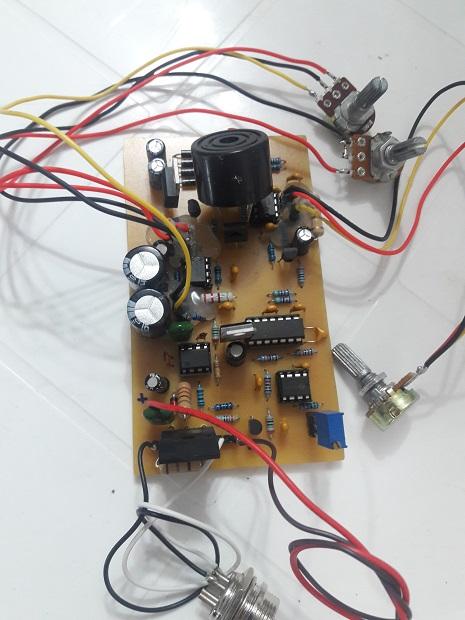 مدار فلزیاب با نوسانساز 455 کیلوهرتز