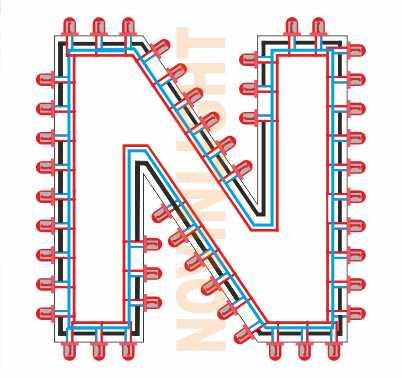 دانلود آموزش ساخت تابلو ال ای دی بدون مقاومت