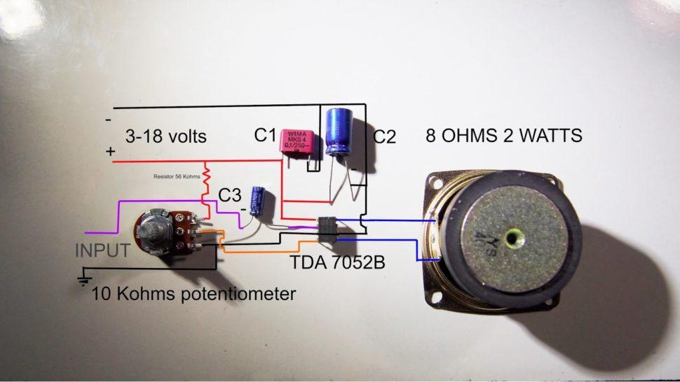 ساخت رادیو اف ام با یک تراشه TDA7000