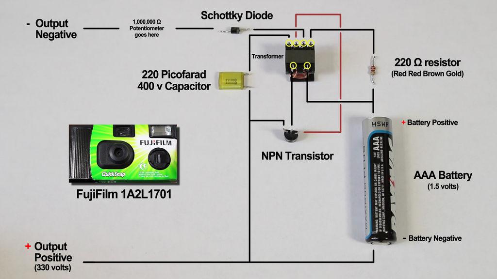 ساخت شوکر با چندصد باتری