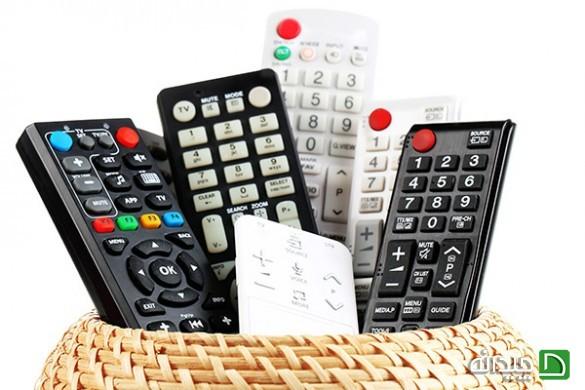 کنترل تلویزیون چگونه کار میکند؟